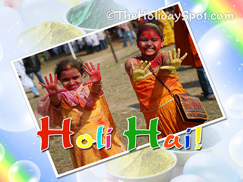 Holi picture for whatsapp and facebook - Holi Hai