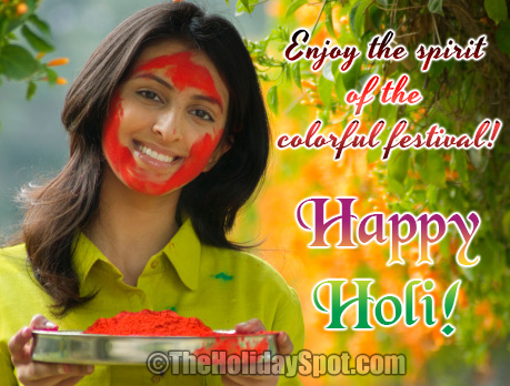 Enjoy the spirit of the colorful festival