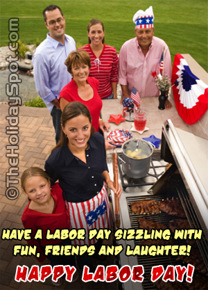 Have a labor day sizzling with fun...