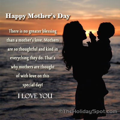 Mother's Day I Love You Card