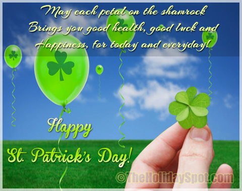 Good Luck Wishes for St. Patrick's Day