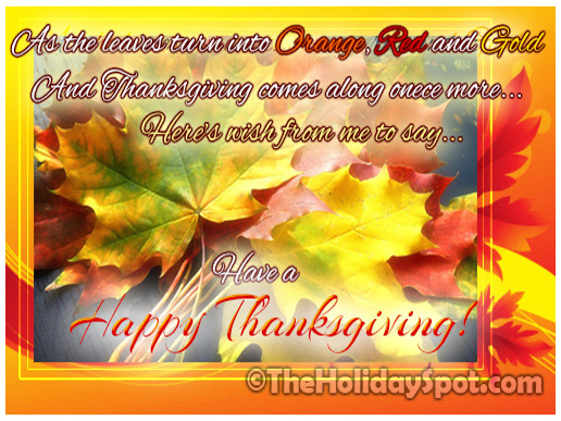 Happy thanksgiving day greeting cards have a happy thanksgiving day m4hsunfo