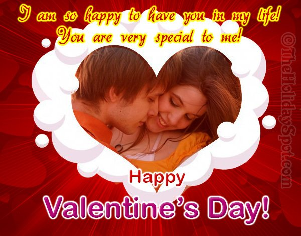 Valentines Day card for special one