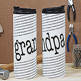 Special Guy Personalized 16oz. Travel Tumbler