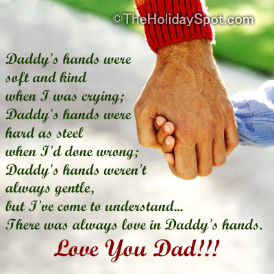 Poems On Fathers Day And Dads