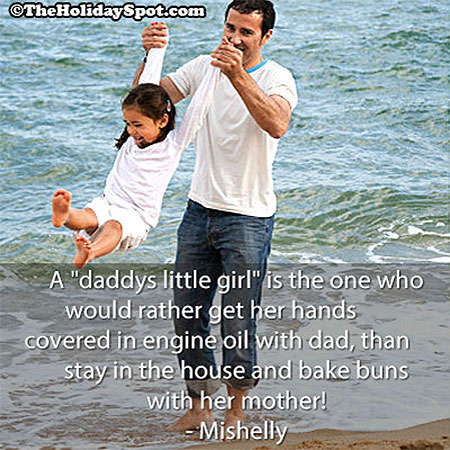 Quotes About Daughters And Fathers Father daughter Quote image