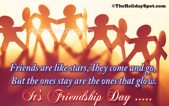 Friendship day greeting cards free online ecards friends are like stars friendship day cards m4hsunfo