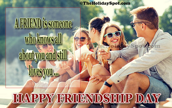 true friend never leave you - friendship day cards