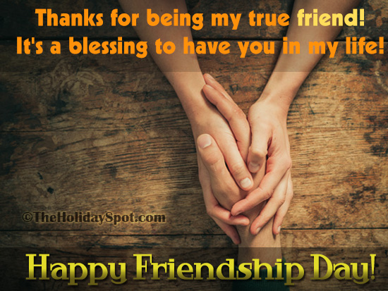 Friendship Day Card For WhatsApp And Facebook