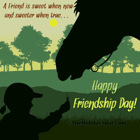 Happy Friendship Day Card For WhatsApp And Facebook