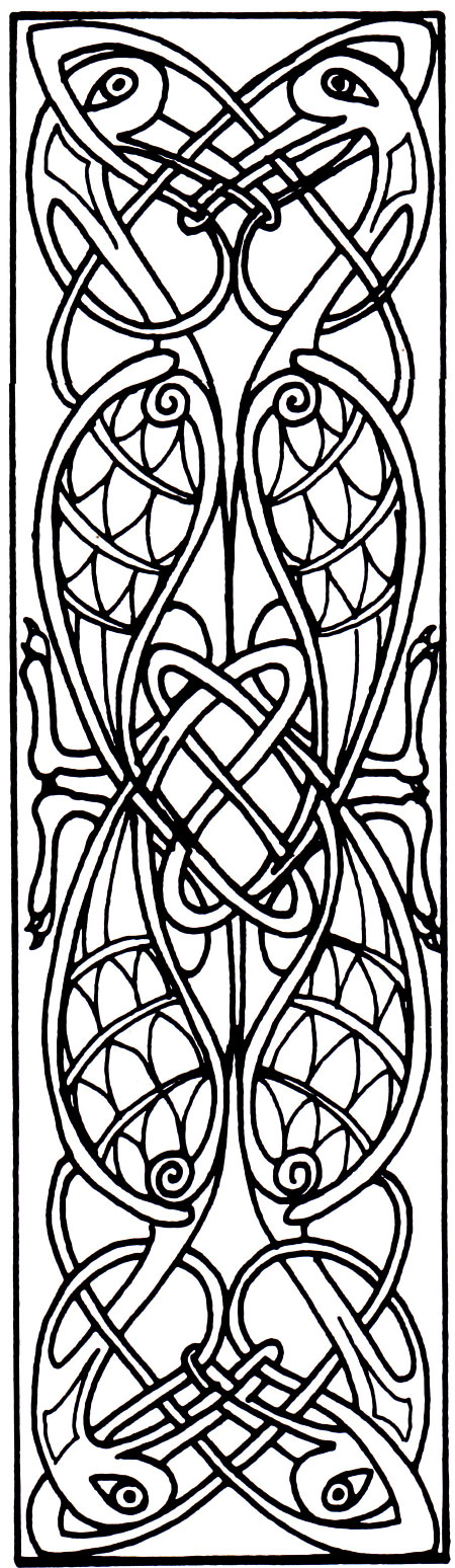 Click Here For The Bookmark Pattern In Full Size