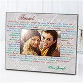 What Girlfriends Mean Personalized Frame