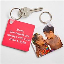 Picture Perfect Personalized Photo Keyring