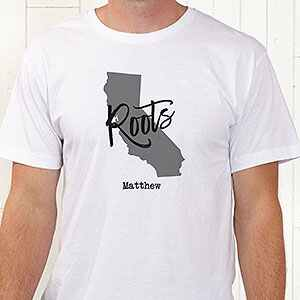 State Pride Personalized Hanes® Adult T-Shirt