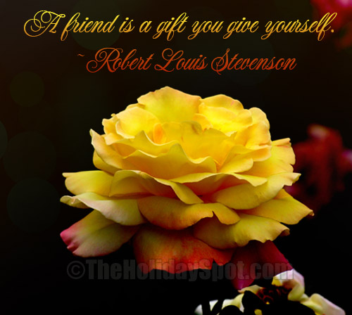 Famous Quote About Friendship Gorgeous Friendship Quotes