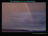 The rainbow of our friendship