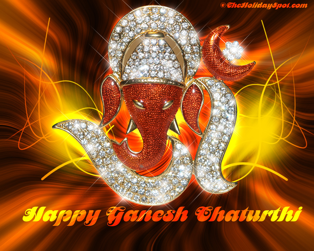 lord ganesha wallpapers 1366x768