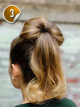 Fantastic Look Cute With A Bun And Bow Hairstyle Hairstyles For Women Draintrainus