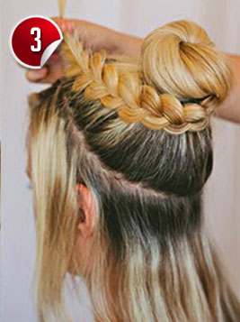 Superb Double Braided Complex Bun Hairstyle For Special Occasions Short Hairstyles For Black Women Fulllsitofus
