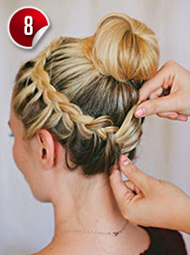 Outstanding Double Braided Complex Bun Hairstyle For Special Occasions Hairstyles For Men Maxibearus
