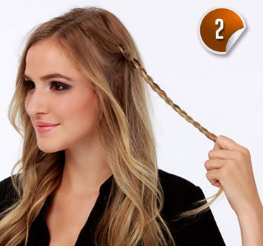 The Easy Braid Scottish Hairstyle Fashion For Hair With Volume
