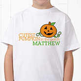 Cutest Pumpkin In The Patch Personalized Clothes
