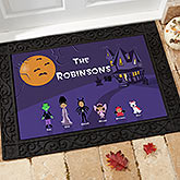 Character Collection Personalized Doormat
