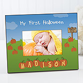 My 1st Halloween Personalized Frame