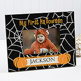 Spider Web Personalized Frame