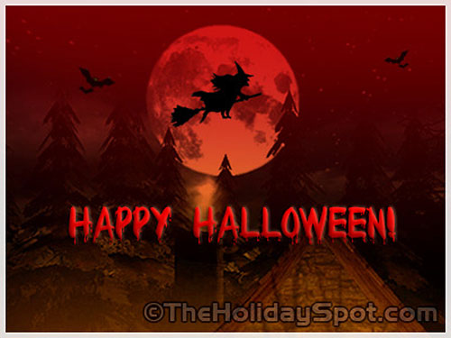 Happy Halloween Greeting Cards