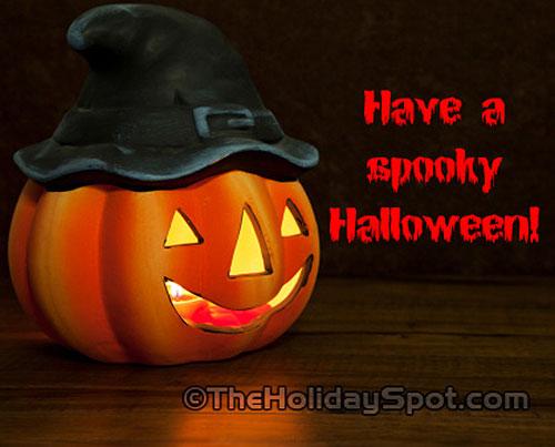 Happy a spooky Halloween