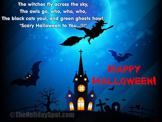 Whatsapp and Instagram Image Greetings for Halloween