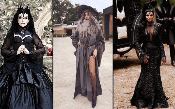 ... Halloeen Costume - Black witch costumes ...  sc 1 st  TheHolidaySpot & DIY Costume Ideas for Halloween