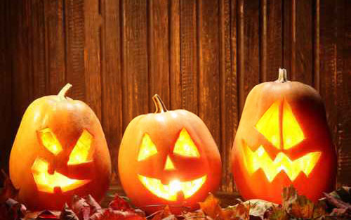 carved halloween pumpkins - Halloween History Witches