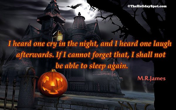 ... Halloeen Quote   Spooky Quote ...