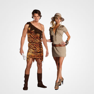 Diy costume ideas for halloween tarzan and jane costume for halloween solutioingenieria Image collections