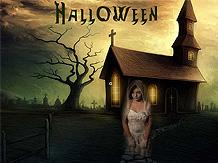 spooky halloween screensaver