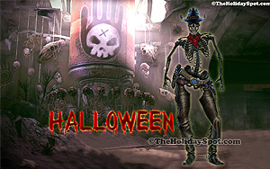 a free to download halloween wallpapers depicting a sacrificial scene - Free Halloween Pictures To Download