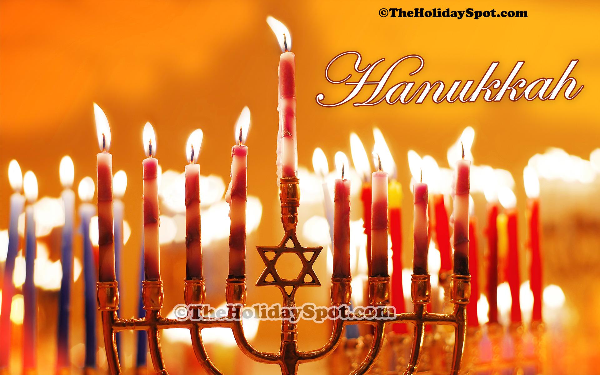 An Exquisite HD Hanukkah Wallpaper