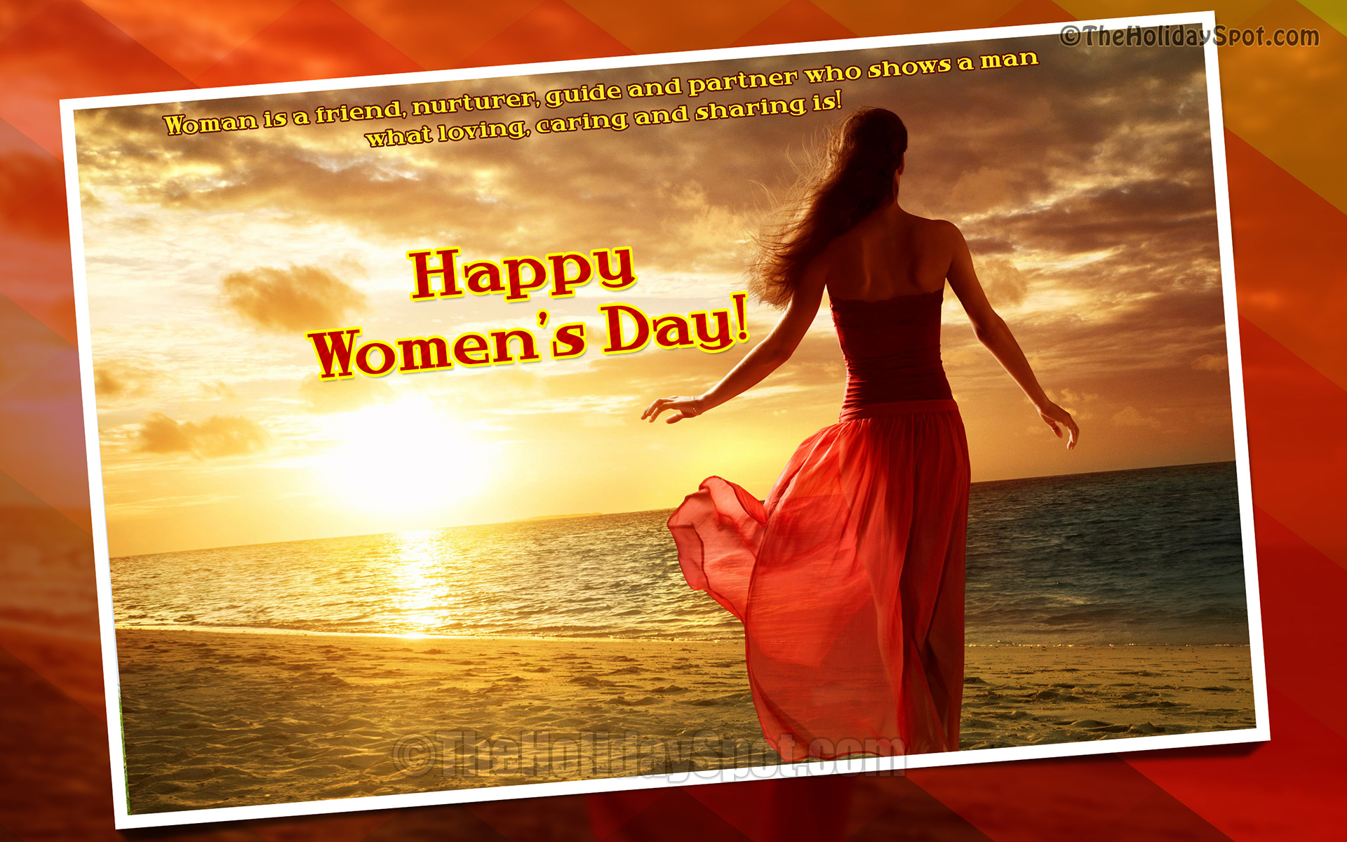 International Womens Day Wallpapers From TheHolidaySpot