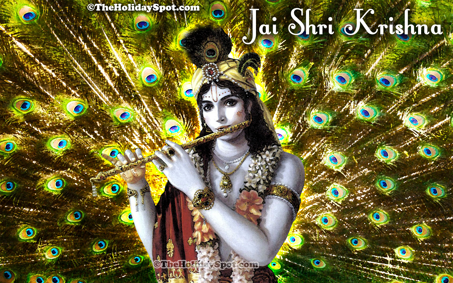 Lord krishna wallpaper laptop - Adorn Your Desktop With This Wonderful Wallpaper Of Lord Krishna