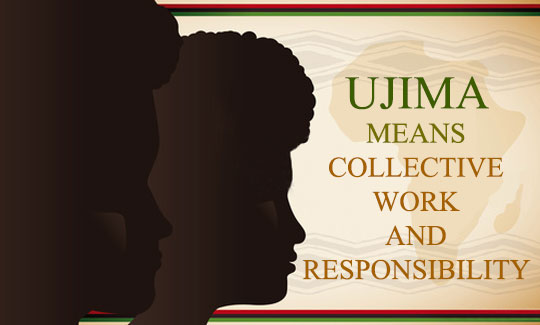 The Third Day of Kwanzaa - Ujima means Collective Work and Responsibility