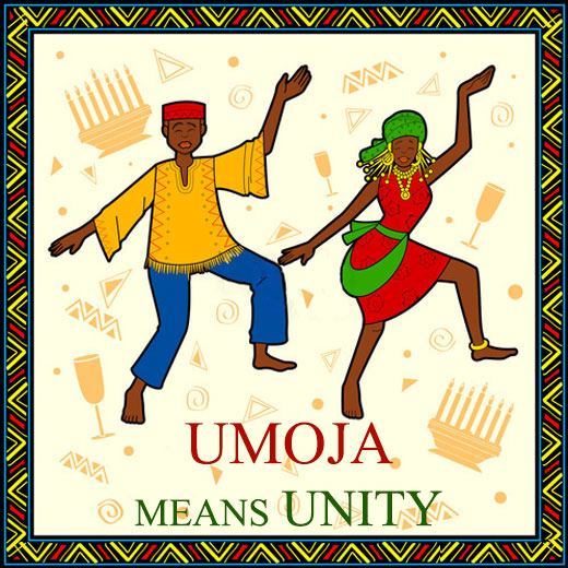 The First Day of Kwanzaa - Umoja means Unity
