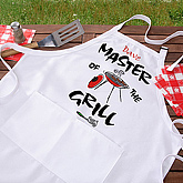 Master Of The Grill© Adult Apron