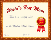 mother s day certificates to print thevillas co