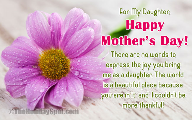 Mothers Day E Cards For A Daughter Who Is A Mother