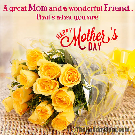 Mothers day ecards for friends who are mothers happy m4hsunfo