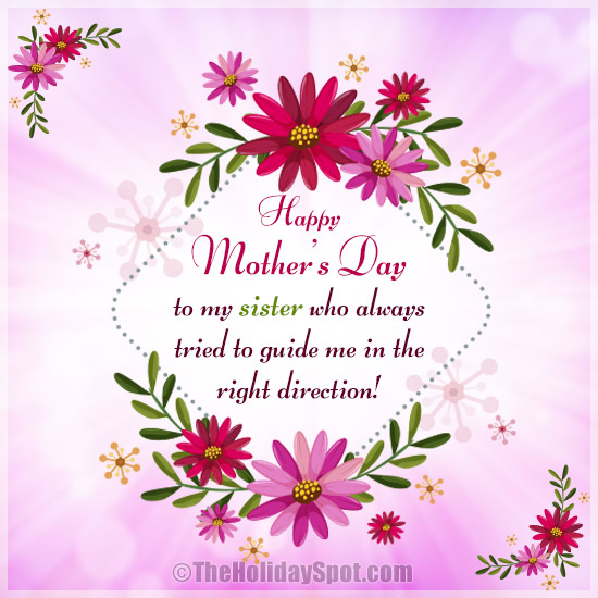 Mothers Day Greeting Cards For Sisters And Sisters In Law