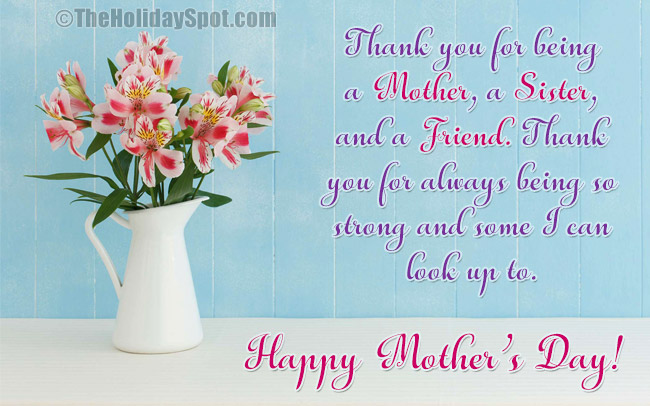 Mother's Day Greeting Cards For Sisters And Sisters-in-law