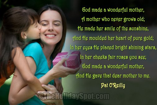 Mothers Day Poems And Poetry Collection Of Mothers
